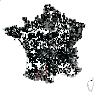 Urtica dioica L. - carte des observations