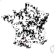 Succisa pratensis Moench - carte des observations