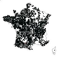 Ilex aquifolium L. - carte des observations