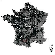LAMIACEAE - carte des observations