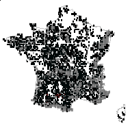 ERICACEAE - carte des observations