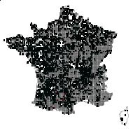 CAPRIFOLIACEAE - carte des observations